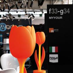 Déco Tulip design, Myyour orange Taille XL laquée