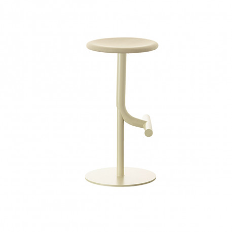 Tabouret haut design Tibu, Magis beige Modèle réglable