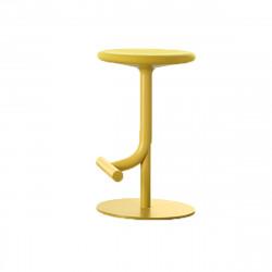 Tabouret haut design Tibu, Magis jaune Modèle réglable