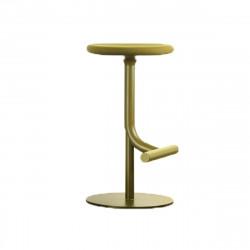 Tabouret haut design Tibu, Magis vert olive Modèle réglable