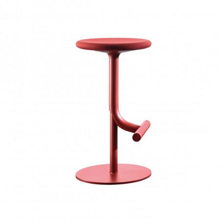 Tabouret haut design Tibu, Magis rouge bordeaux Modèle réglable