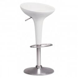 Tabouret de bar Bombo, Magis blanc Fixe H75,5 cm
