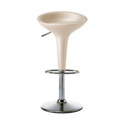 Tabouret de bar Bombo, Magis ivoire Réglable 61/85 cm