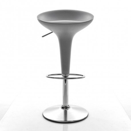tabouret de bar bombo magis gris m tallis fixe h84 5 cm cerise sur la deco. Black Bedroom Furniture Sets. Home Design Ideas