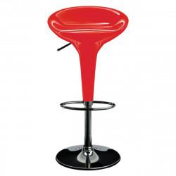Tabouret de bar Special Bombo, Magis rouge