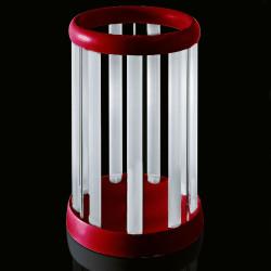 Porte-parapluie Eretteo, Magis rouge Version assemblée