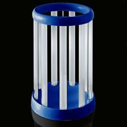 Porte-parapluie Eretteo, Magis bleu Version assemblée