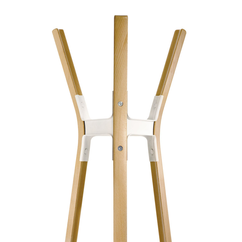 Porte manteau steelwood magis bois naturel joint et vis for Joint porte bois