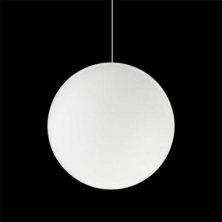 Lampe suspension Globo Hanging In, Slide blanc Diamètre 60 cm
