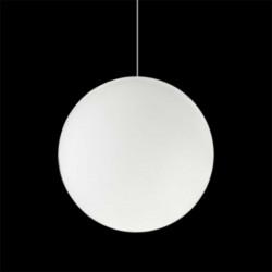 Lampe suspension Globo Hanging In, Slide blanc Diamètre 200 cm