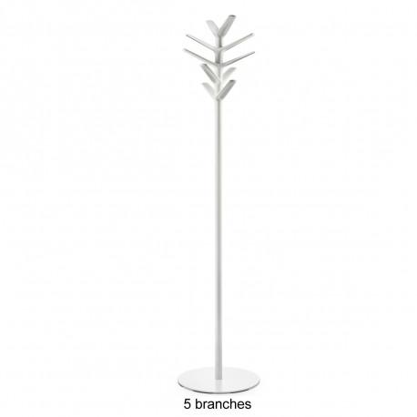 Porte Manteau Design Flag Pedrali Blanc 5 Branches Cerise Sur La Deco