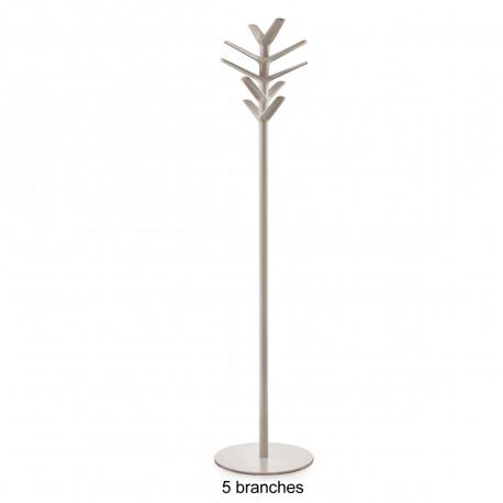 Porte-manteau design Flag, Pedrali beige 5 branches