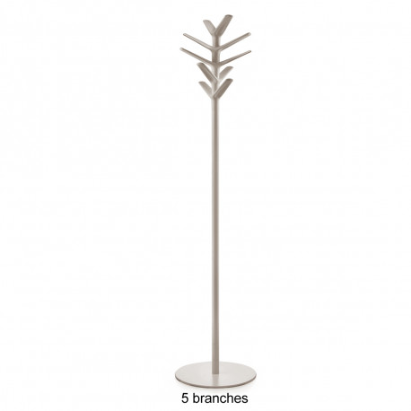 Porte-manteau design Flag, Pedrali beige 4 branches