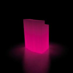 Elément d'angle Bar design Frozen, Plust blanc Lumineux LED RGB fil
