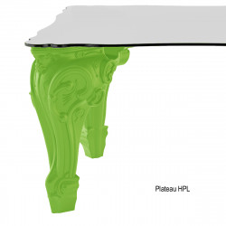 Table Sir of Love, Design of Love by Slide vert Longueur 200 cm