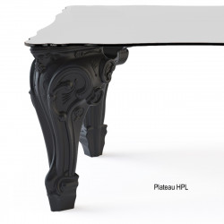 Table Sir of Love, Design of Love by Slide noir Longueur 260 cm