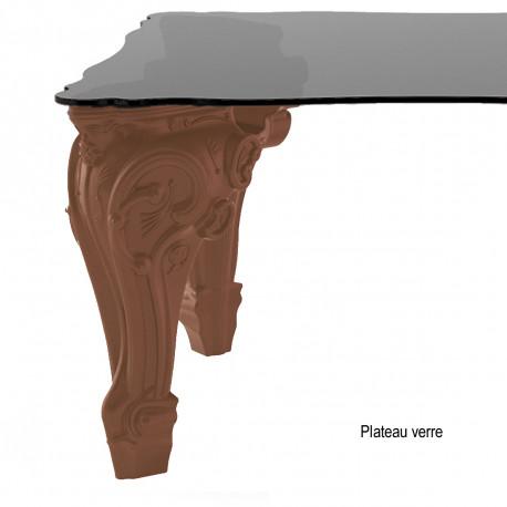 Table Sir of Love, Design of Love by Slide chocolat Longueur 260 cm