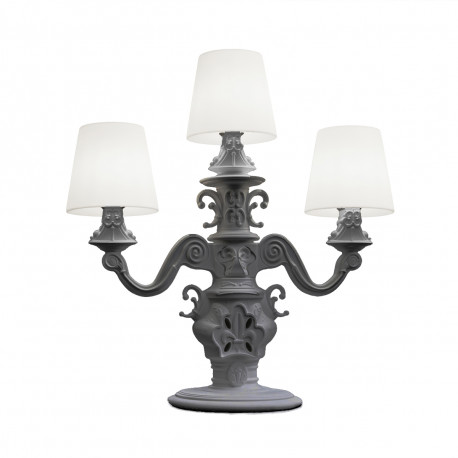 Lampadaire King of Love, Design of Love by Slide gris