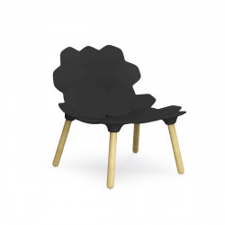 Chaise design Tarta, Slide Design noir