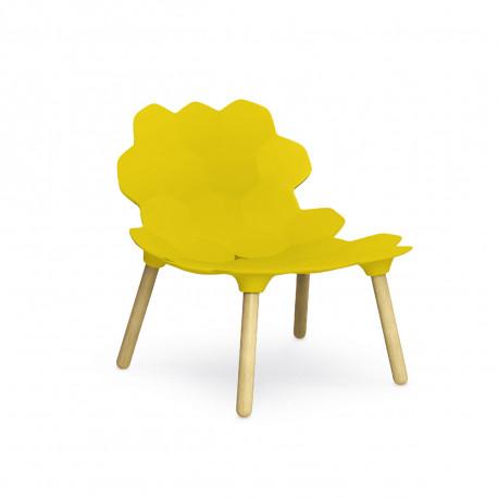 Chaise Design Tarta Slide Jaune