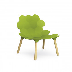 Chaise design Tarta, Slide Design vert