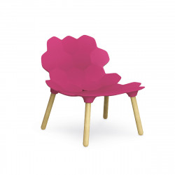 Chaise design Tarta, Slide Design magenta