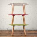 Table basse Tarta, Slide Design magenta