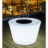 Table Bass Lumineuse, Smart & Green lumineux Diamètre 80 cm