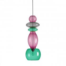 Suspension 5 pièces Candyofnie 3, Fatboy violet et vert