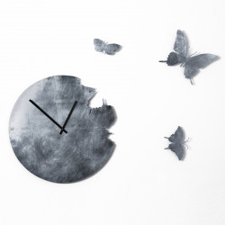 Horloge Butterfly Leaf, Diamantini & Domeniconi argent