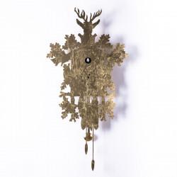 Horloge Cucù Leaf, Diamantini & Domeniconi or