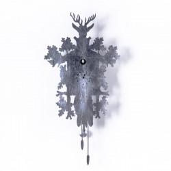 Horloge Cucù Leaf, Diamantini & Domeniconi argent