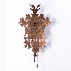 Horloge Cucù Leaf, Diamantini & Domeniconi cuivre