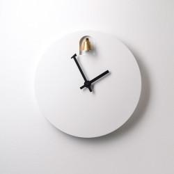 Horloge Din, Diamantini & Domeniconi blanc
