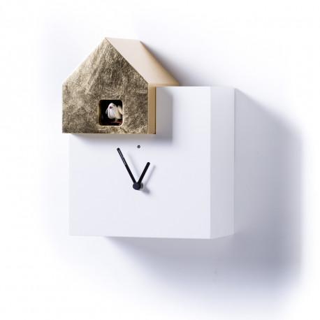 Horloge Ettore Leaf, Diamantini & Domeniconi or