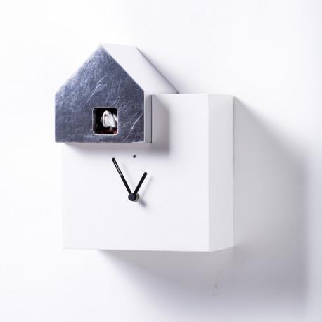 Horloge Ettore Leaf, Diamantini & Domeniconi argent
