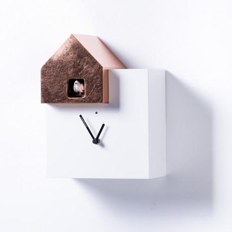 Horloge Ettore Leaf, Diamantini & Domeniconi cuivre
