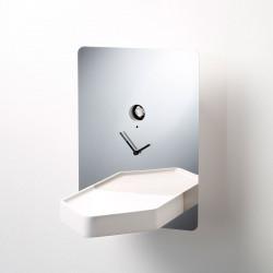 Horloge Riflessioni, Diamantini & Domeniconi blanc
