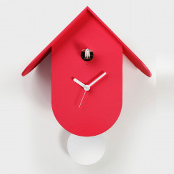 Horloge Titti, Diamantini & Domeniconi rouge