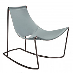 Rocking Chair Apelle DN, Midj bleu azur
