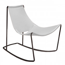 Rocking Chair Apelle DN, Midj blanc