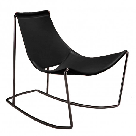 Rocking Chair Apelle DN, Midj noir