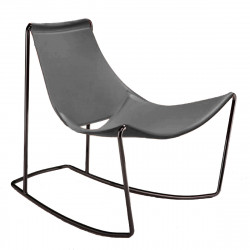 Rocking Chair Apelle DN, Midj gris foncé