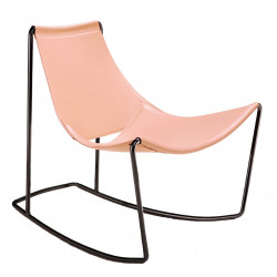 Rocking Chair Apelle DN, Midj rose poudré