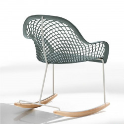 Rocking Chair Guapa DN, Midj bleu azur