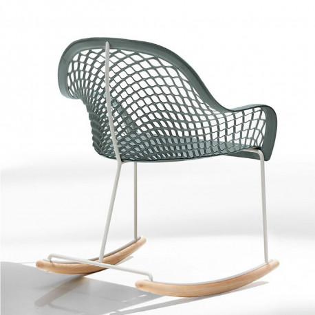 Rocking Chair Guapa DN, Midj bleu azur
