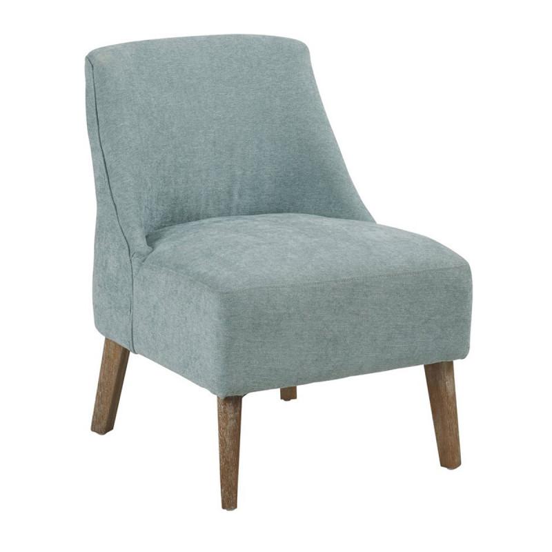 fauteuil crawford hanjel bleu p trole cerise sur la deco. Black Bedroom Furniture Sets. Home Design Ideas