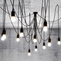 Lustre tentacules Maman Dimmable, Seletti noir