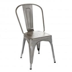 Chaise A Verni, Tolix satiné