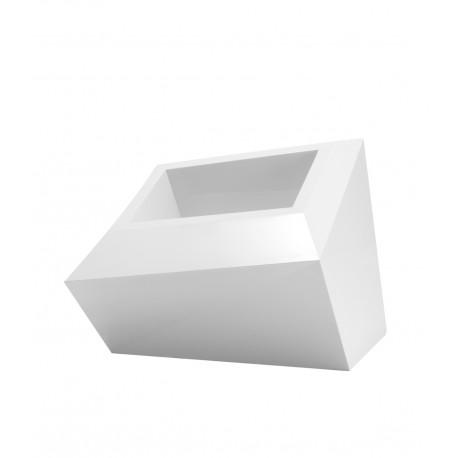 Pot Bas design Faz, Vondom blanc L double paroi